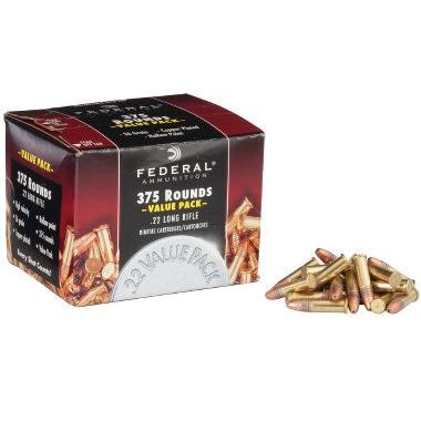 federal champion 22 lr 375 round value pack ammo 12 99 free