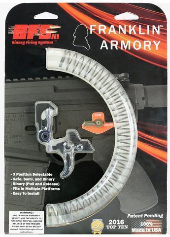 Sale Franklin Armory Bfs Iii Binary Firing System Gen 3 369 Gun Deals