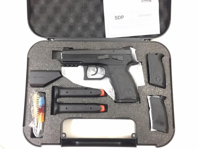 Sphinx SDP Compact Alpha 9mm 3 mags Kriss - $739