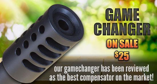 """""""Game Changer"""" Compensator for Ruger Mark III 22/45, Mark ..."""