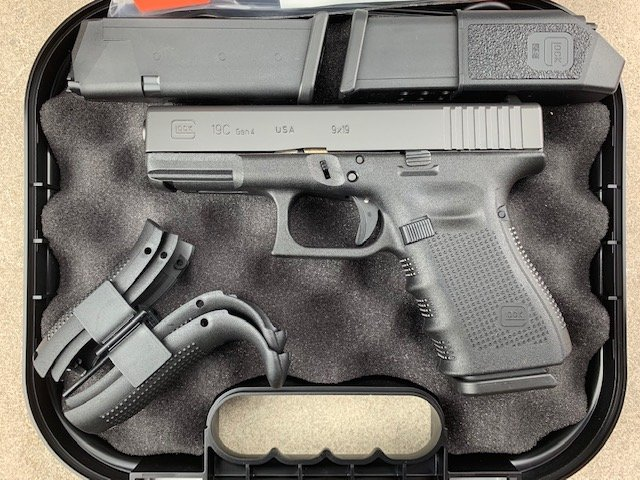 Glock 19C Gen4 9mm Pistol - $489 95