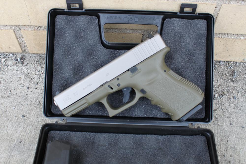 Glock 23 complete Slide Upper Nickel Boron Coated NIBX Fully Assembled  Slide Free Shipping - $119 99 (Free S/H)