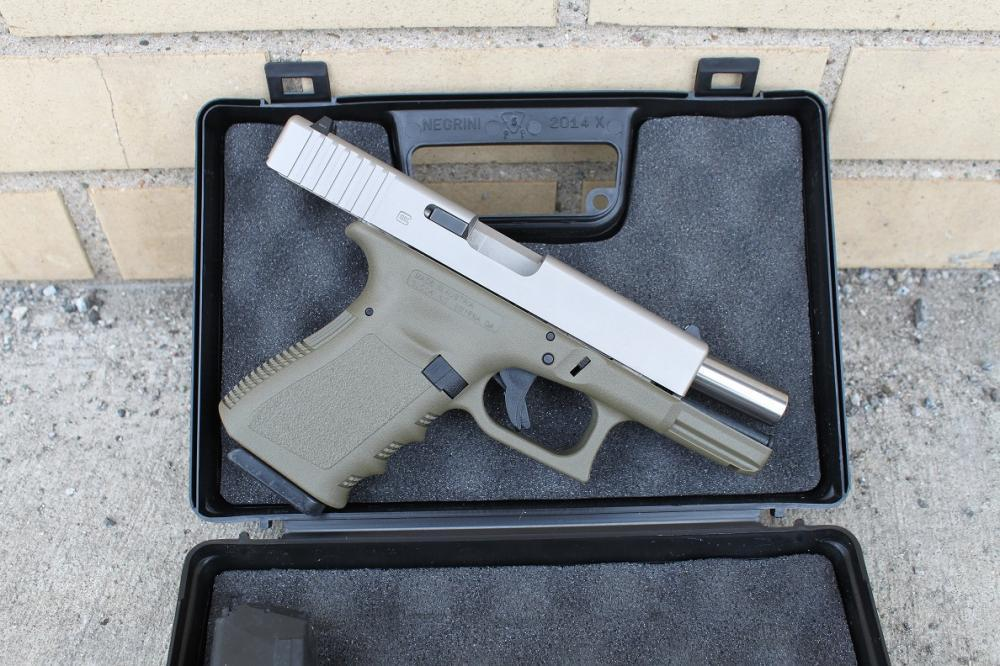 Glock 23 complete Slide Upper Nickel Boron Coated NIBX Fully ...