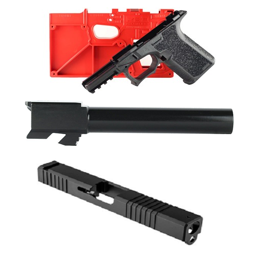 9mm Polymer80 PF940CV1 Compact Glock 19 Frame-Slide-Barrel Builders Kit -  $320 37 - Free shipping