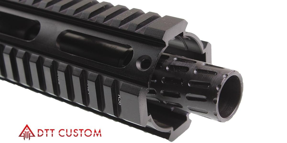 "Davidson Defense ""Himalia"" AR-15 Pistol Upper 8"" 7 62x39 QPQ Nitride 1-10T  Heavy Barrel 9"