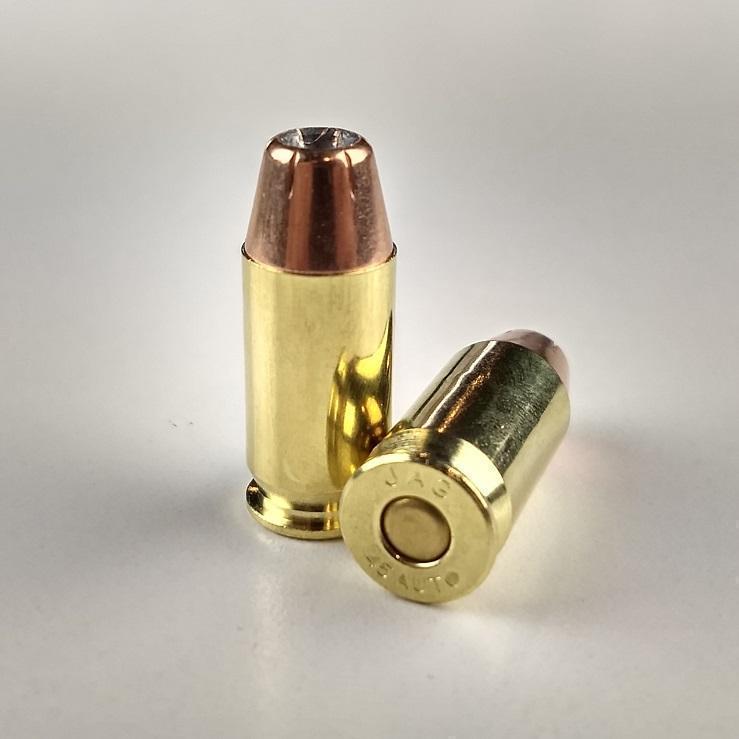 MOA Munitions - 45 ACP 230 Grain XTP - Factory New JHP - Premium Defense -  100 Round Bulk Package - $13 65