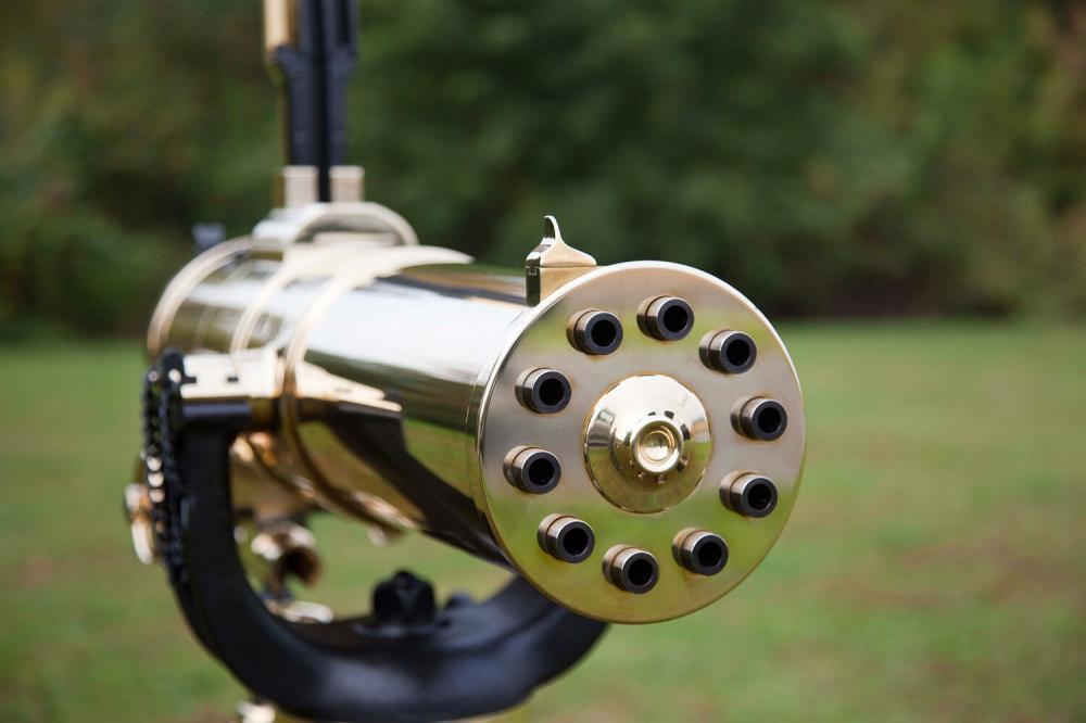 Colt 1877 Bulldog Gatling Gun Brass  45-70 Government 18 25