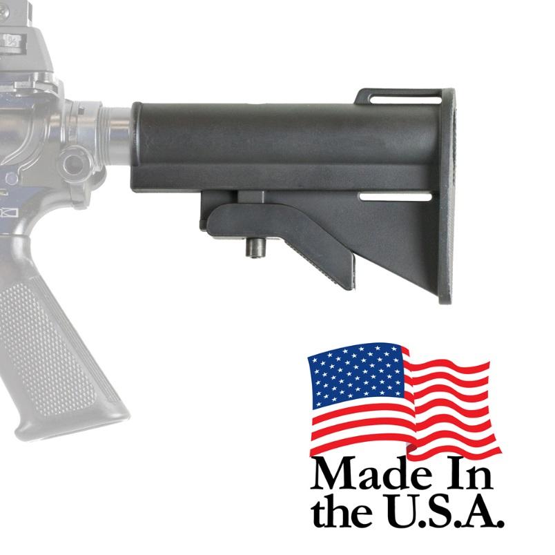 J&E PS-ST9B Pro Series 4 position AR15/M4 CQB Micro ButtStock - $9 95 (Free  S/H)