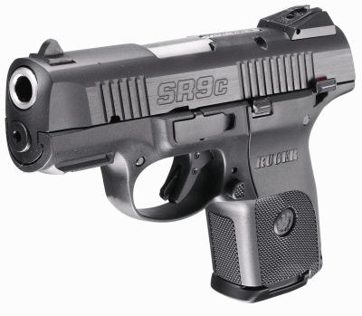 Ruger SR9C 9mm Pistol in Nitrodox Pro Black Finish - $399 + Free Shipping  (Free S/H on Firearms)