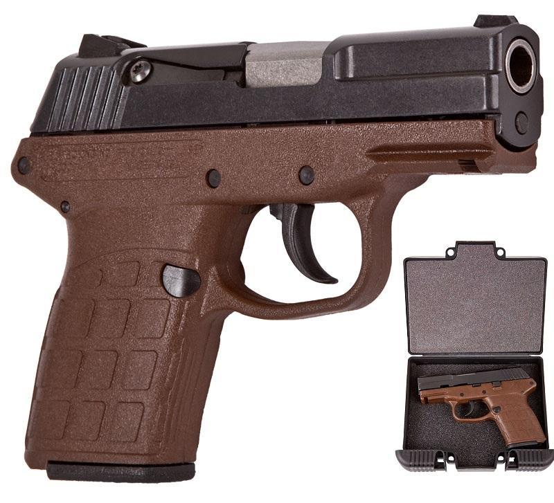 Keltec PF-9 Limited Edition 9mm in Billfold Brown #KELTEC-PF-9 - $229 99