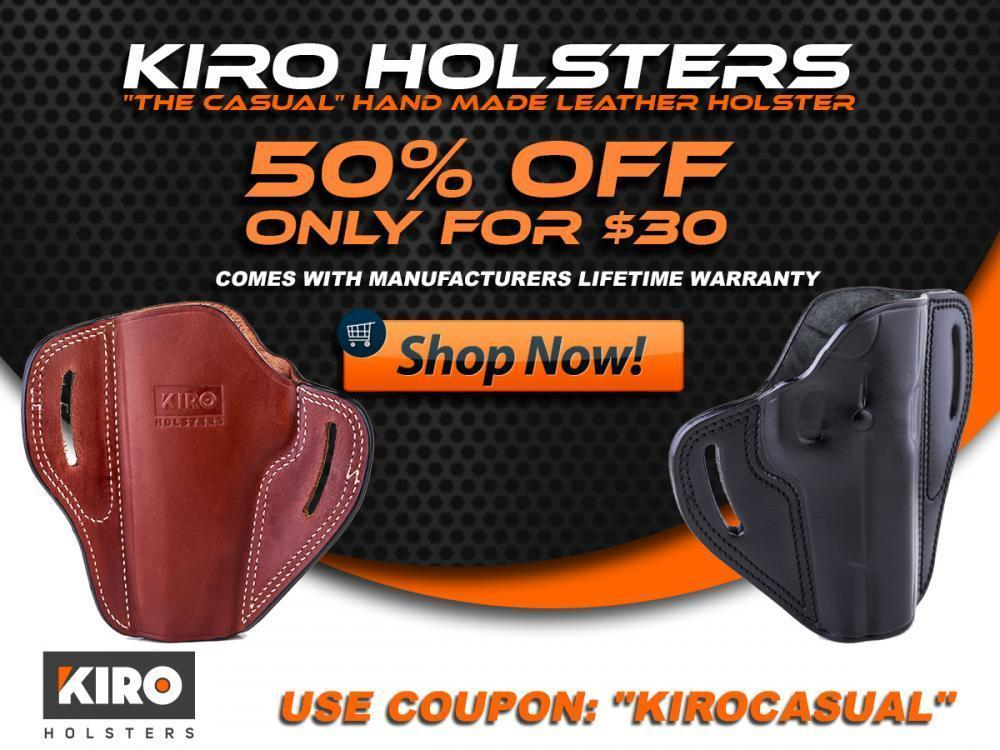 Holsters The Casual KIRO Leather Holster for Walther PPQ