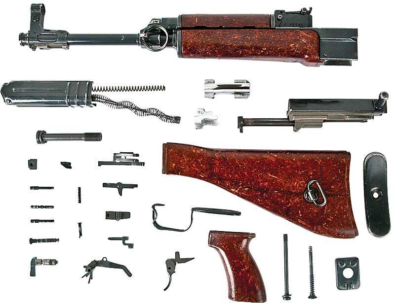 VZ-58 7 62x39 Bakelite Stock Parts Kit - $269 99