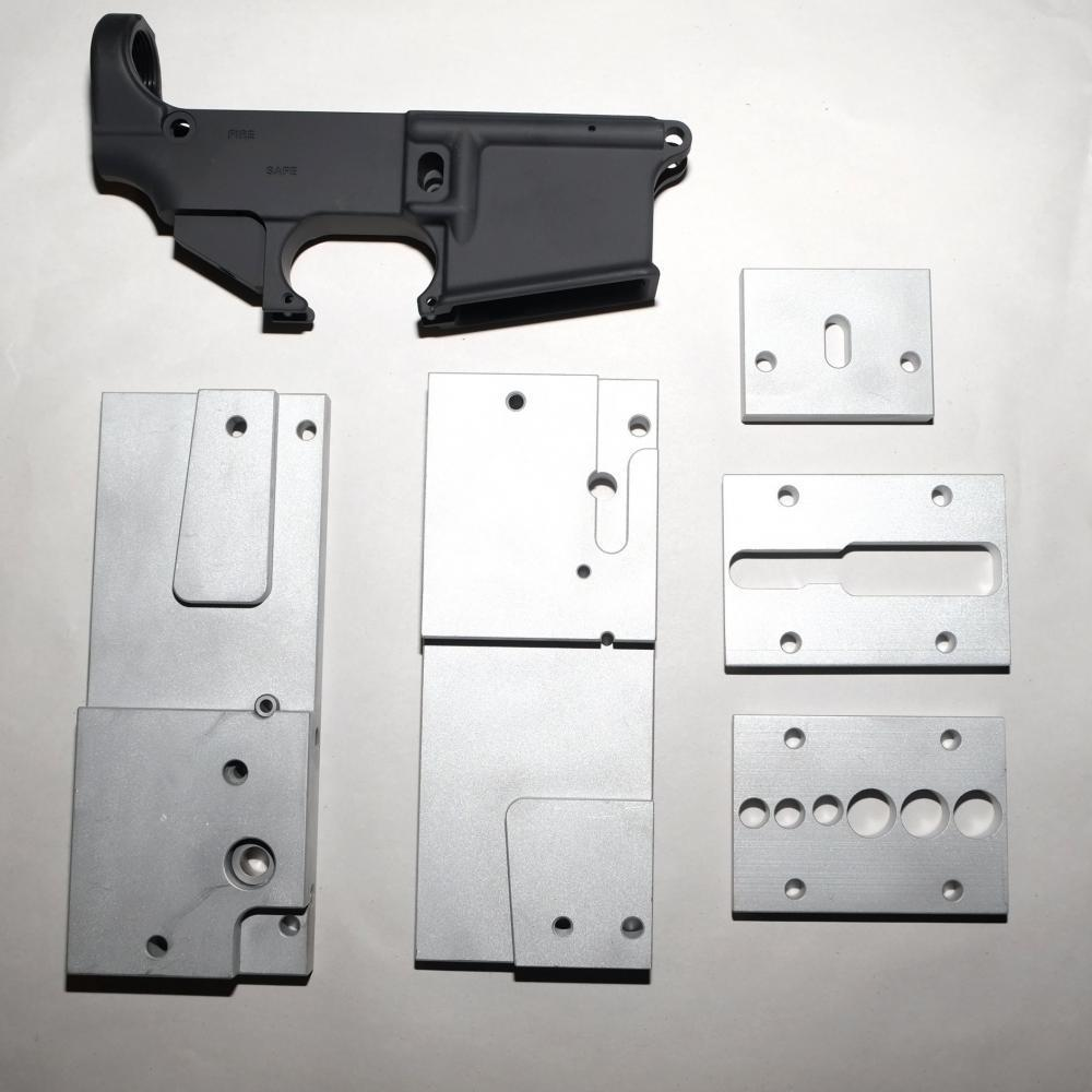AR-15 80% Lower Receiver and Jig Kit - $99 99