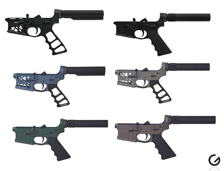 Ghost Firearms - Complete AR15 Lower Receivers From $129