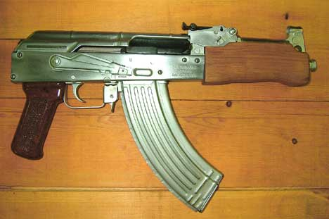 Mini Draco AK-47 Pistols in Hard Chrome - $499 99