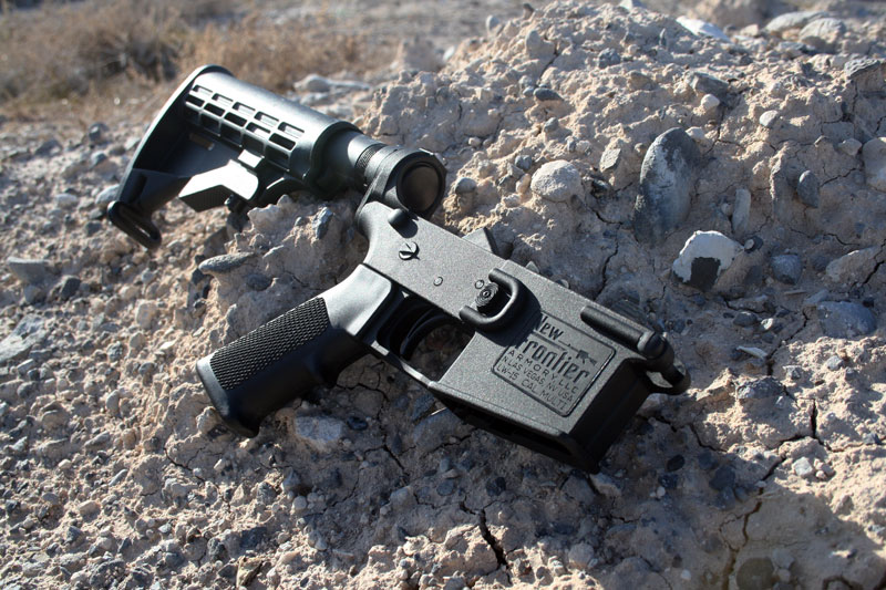New Frontier Armory Complete Polymer LW-15 Lower Reciever w