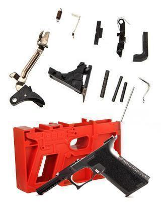 Package Deal P80 PF940V2 GLOCK 17 Compatible Frame Kit and