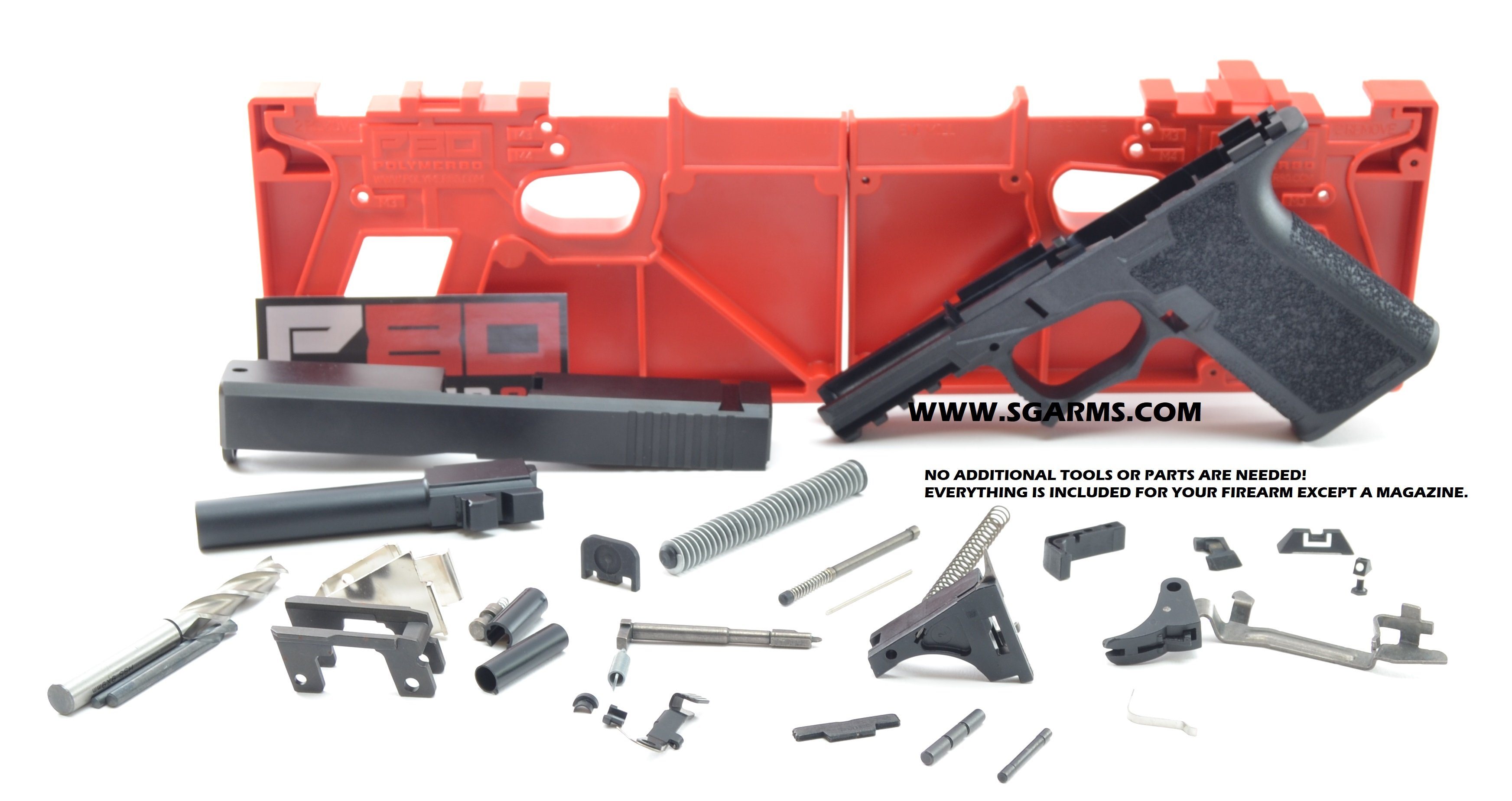 After COUPON CODE Full Size P80 Build KITS for- $429