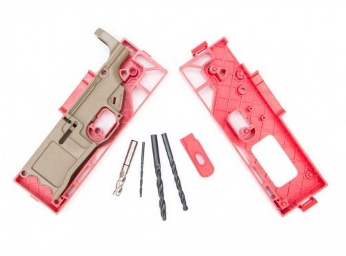 Polymer 80 WarrHogg  308 80% Lower and Jig System - FDE - $65 + Free  Shipping