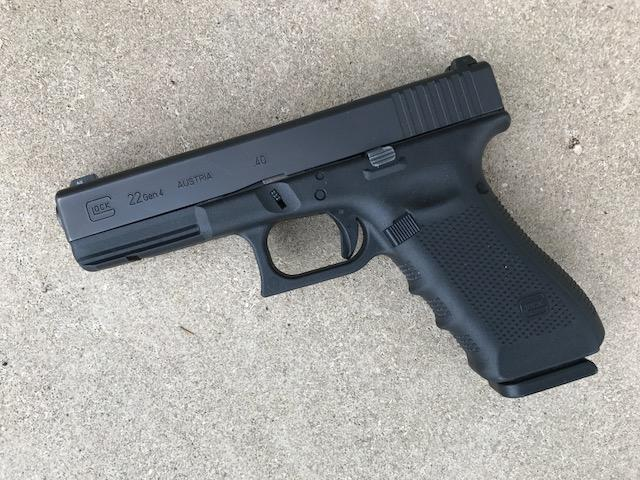 Glock 22 Gen4 40 S W W Ns Very Good Condition 319 95 Gun Deals