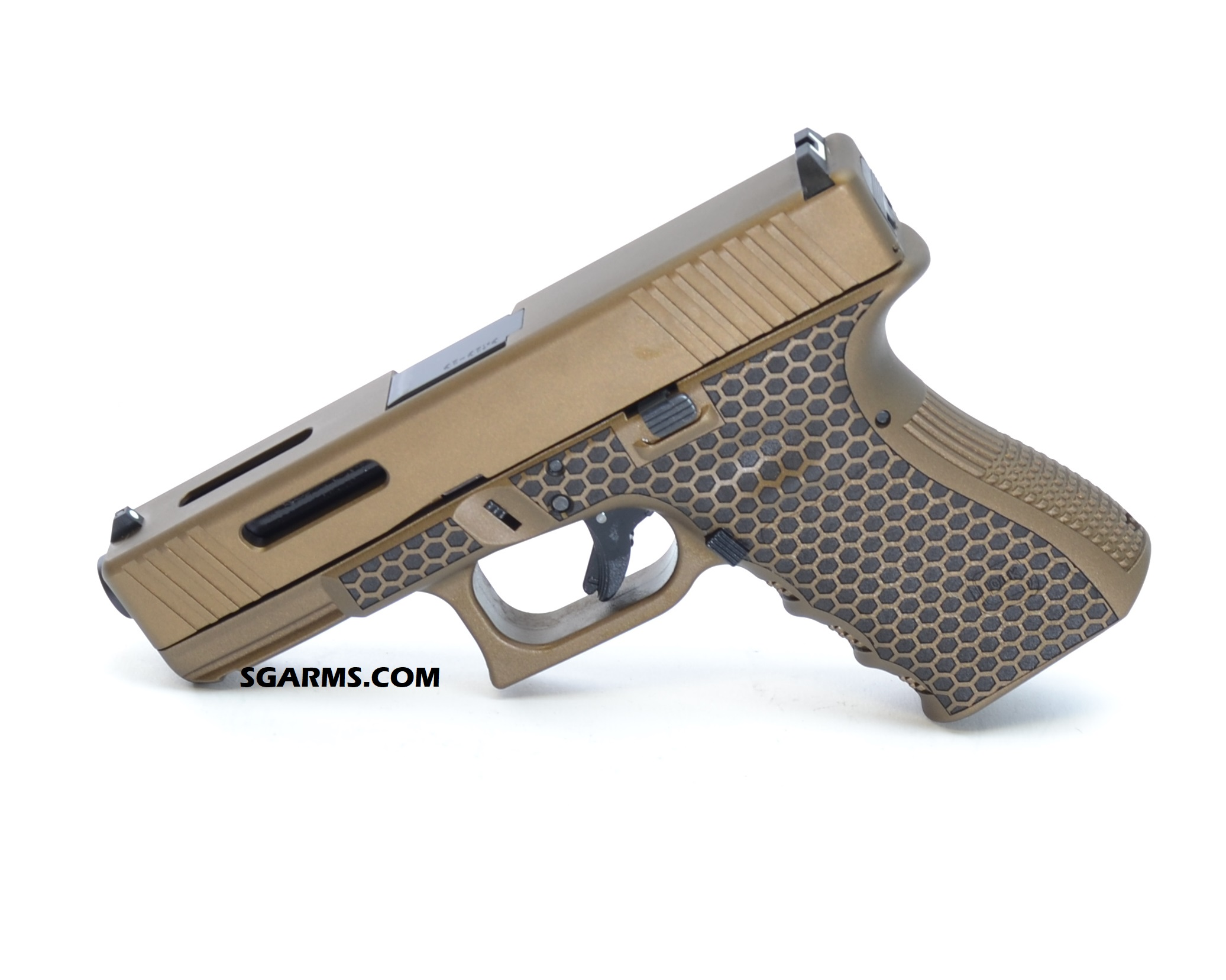 Build Kits Back in Stock! Glock 43 Frames Cerakote and Laser Stippled FREE  SHIP - $110