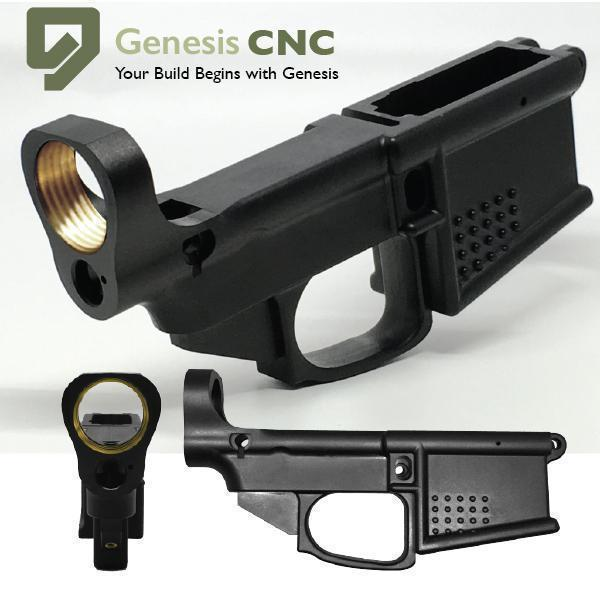 genesis cnc polymer 80 ar 15 lower complete kit 55 after code