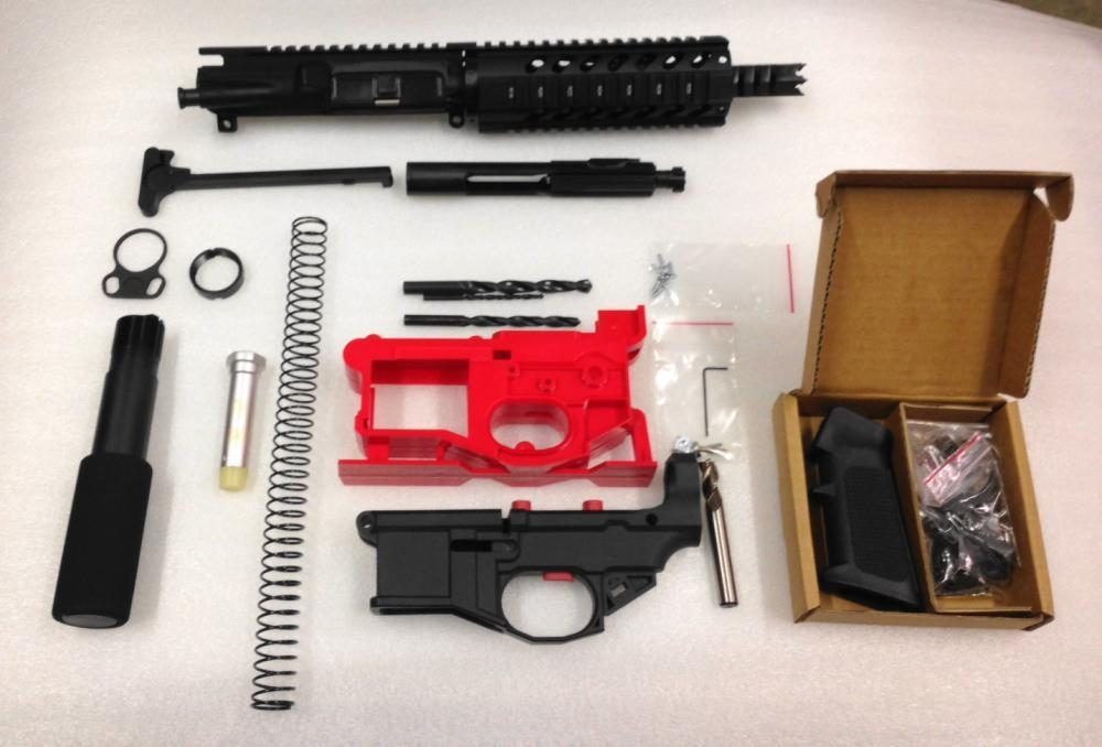 Complete AR15 Pistol Paladin 1x7 Kit With Polymer 80 80% Lower and  Jig-Assembled Free Shipping - $559 99