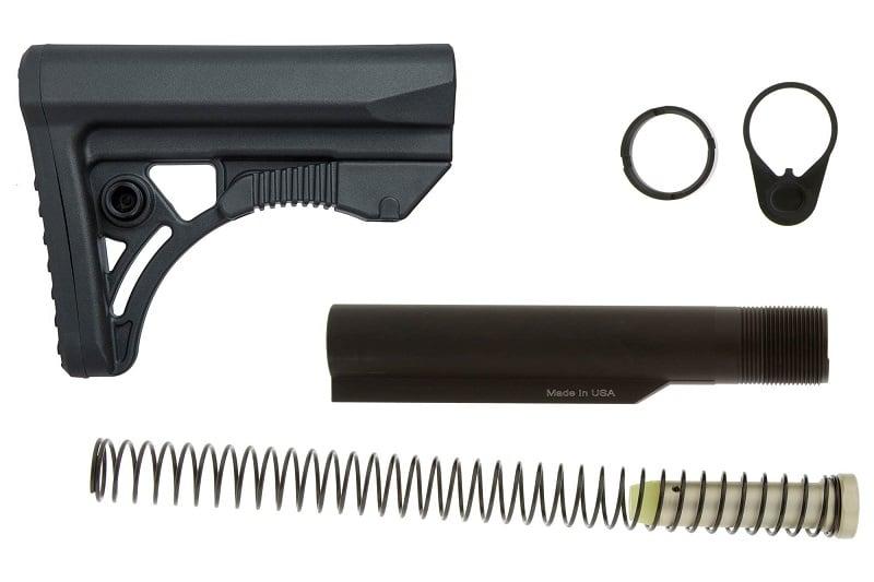 Leapers UTG PRO Ops Ready S3 MIL-SPEC Stock Kit - Black - $39 99