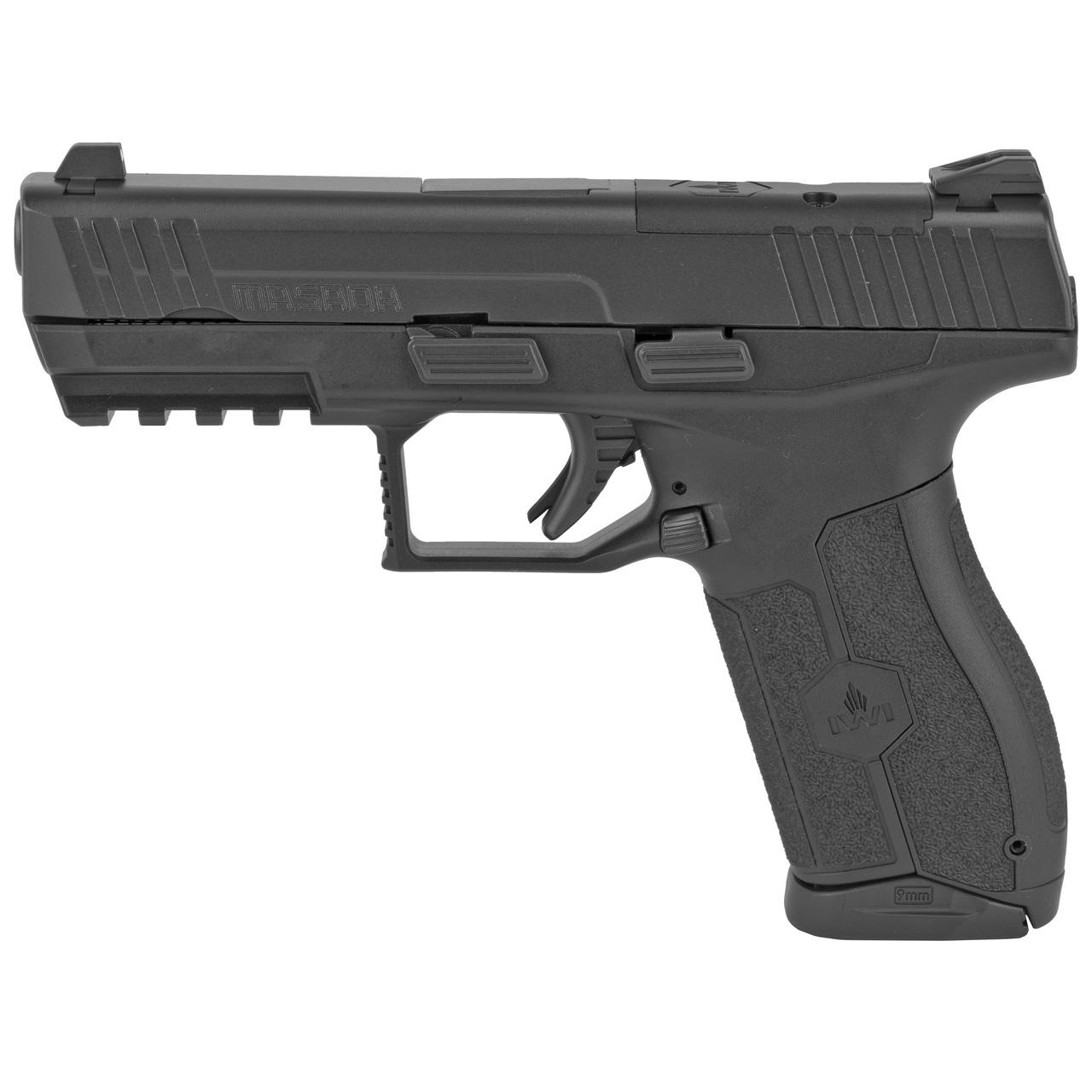 Iwi Masada M9orp17 9mm 4 Black Optic Ready 17 1 409 Gun Deals
