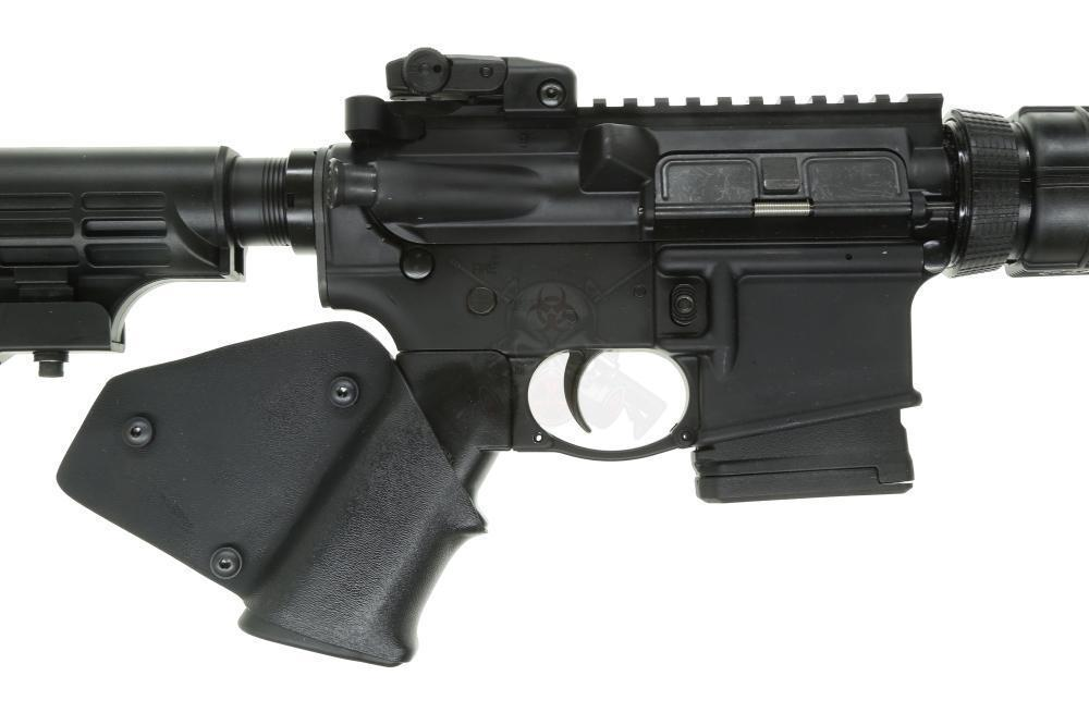 California Legal RUGER 8500 AR-556 556NATO Rifle w/ installed grip wrap,  pinned stock & HERA barrel cap (1) 10rd mag - $549 99 (S/H $19 99 Firearms,