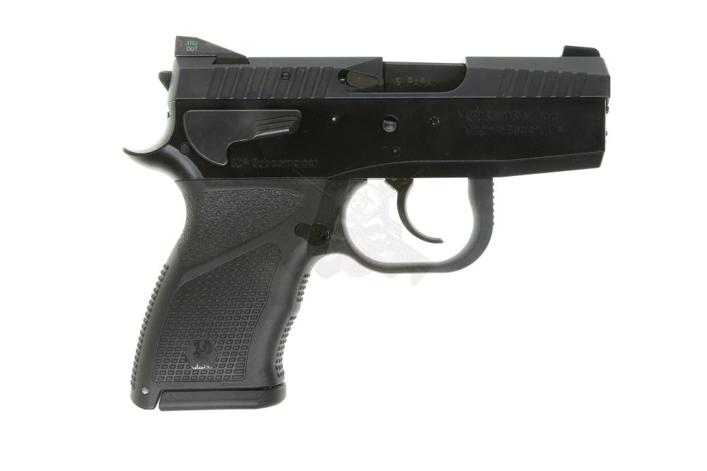 SPHINX SDP Subcompact Alpha 9mm Pistol with installed Meprolight Tru-Dot  Tritium Green Night Sights (2) 13rd mags - $899 99 (S/H $19 99 Firearms,