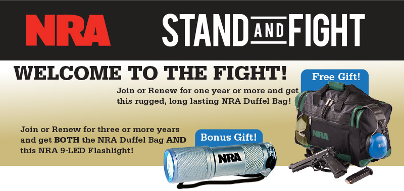 Stand and Fight: Cheaper Than Dirt and NRA Offer $300 Lifetime ...
