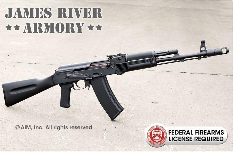 JAMES RIVER ARMORY AK74 5 45X39 Rifle - $649 95