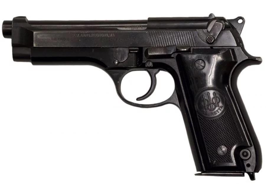 Used Beretta 92s Italian Police 9mm 4 9 Quot 1 15rd Mag 299