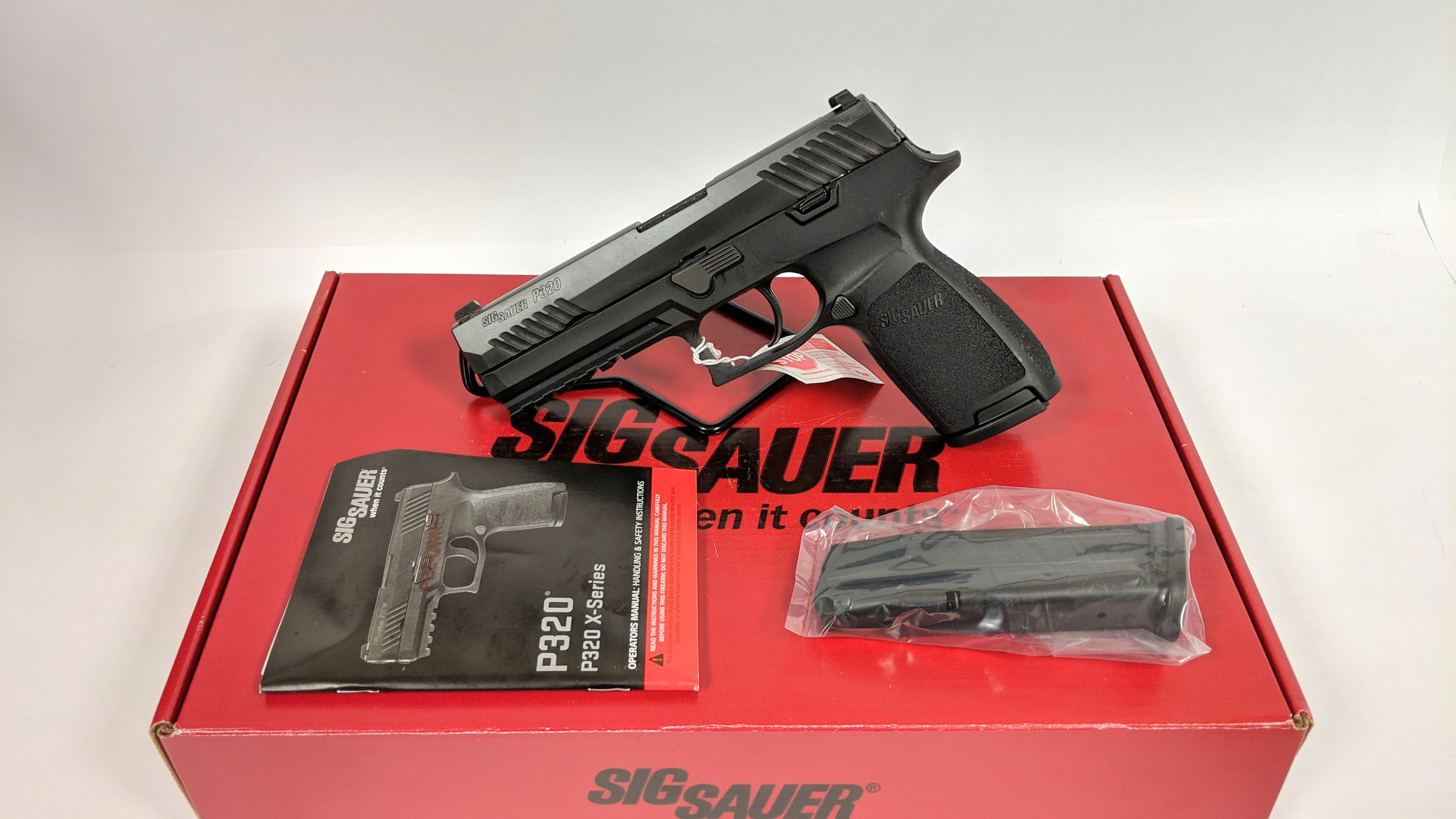 Sig Sauer P320 Full Size 9mm W / Night Sights, CPO (certified pre owned, 1  year warranty) - $347 99 + $10 99 S/H ($339 99 Cash)