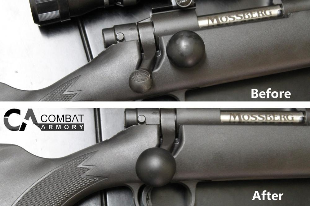 Combat Armory Extended Bolt Action Silicone Knob fits all rifles- Free  shipping - $6 99 (Free S/H)