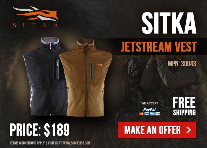 Sitka Jetstream Vest New 30043