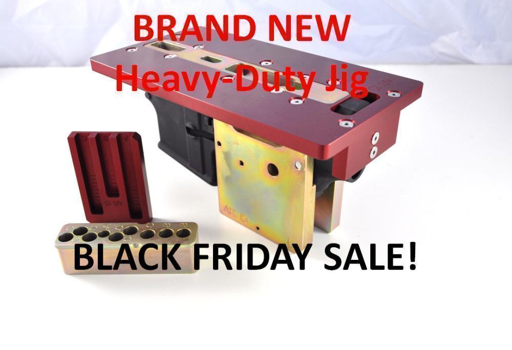 BLACK FRIDAY DEAL at Modulus Arms on ALL NEW Heavy-Duty AR-15 80% Jig and  AR-308 80% Jig FREE Fab Kit - $179 99
