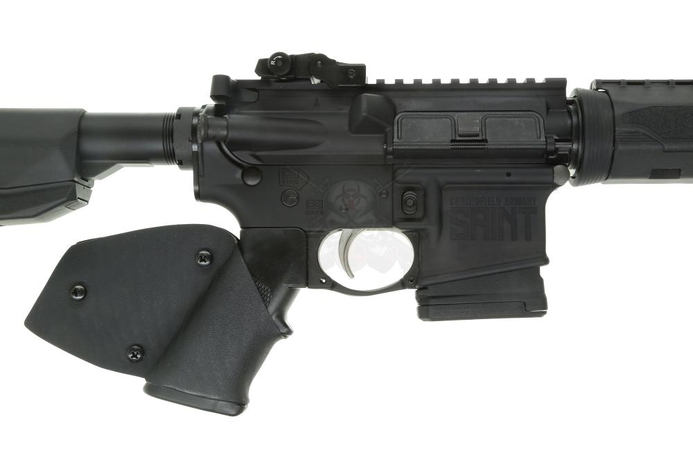 Springfield SAINT CA LEGAL 5 56NATO AR15 Rifle 16'' barrel w/ grip wrap &  HERA Barrel Cap (1) 10rd mag - FEATURELESS - $849 99 (S/H $19 99 Firearms,