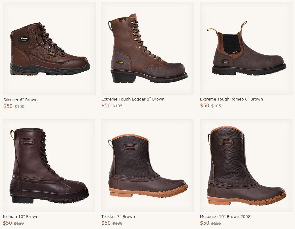DANNER & LACROSSE BOOTS @ The Break Room - $40 after $10 OFF ...