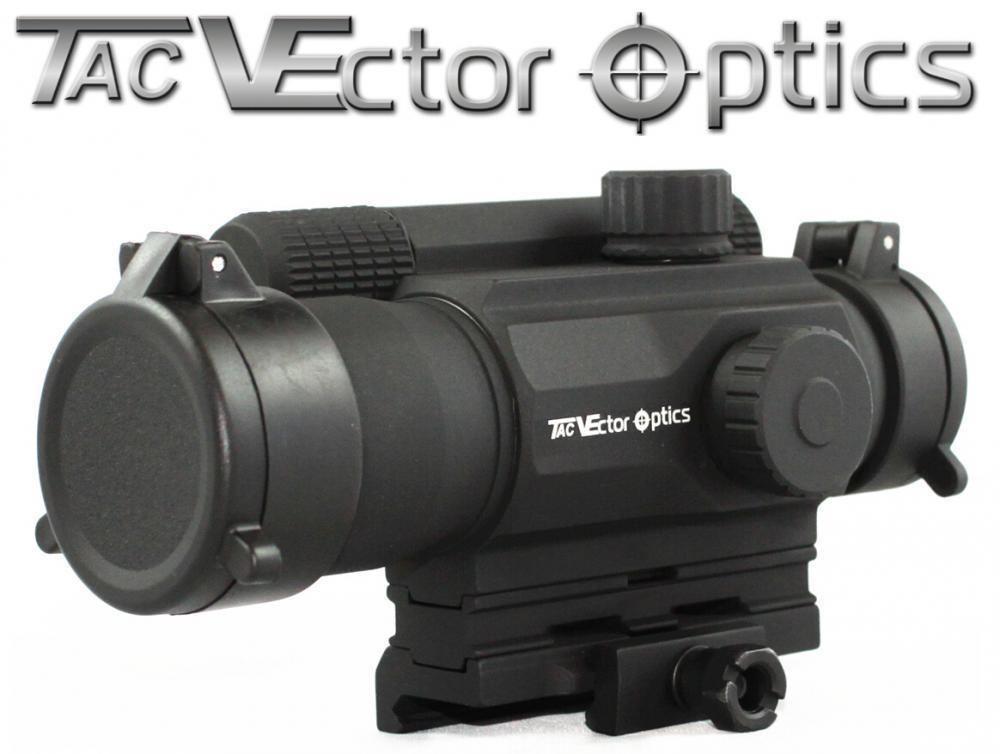 Vector Optics Tempest 1x35 Multi Reticle Tactical Red Dot Scope Mil