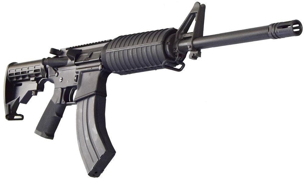 bear creek arsenal ar 15 rifle 7 62x39 caliber flat top and hard