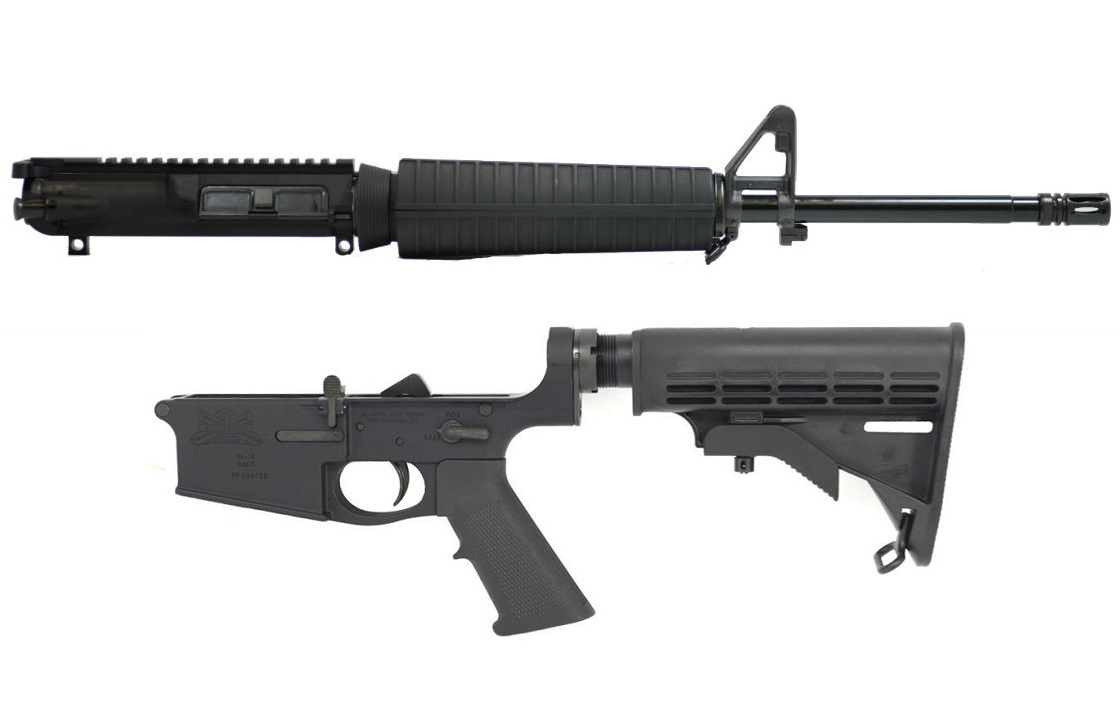Complete PSA AR-10  308 Rifle w/ BCG and CH - $479 98 shipped