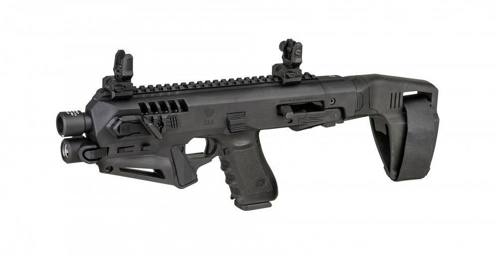 Micro RONI Stab Glock 19 CAA NON NFA Pistol Carbine ...