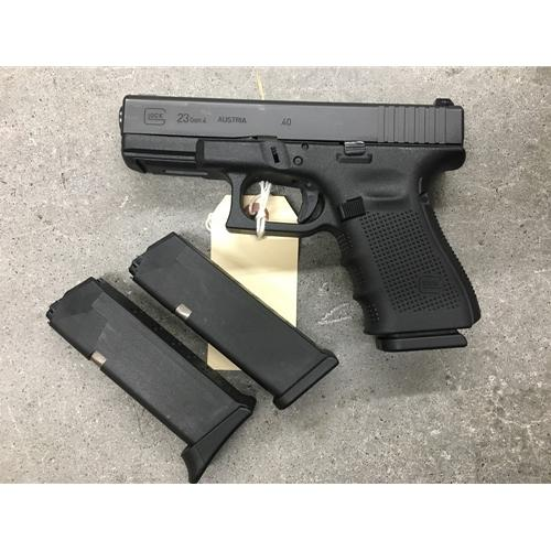 police trade in glock 23 gen 4 excellent condition with night sights