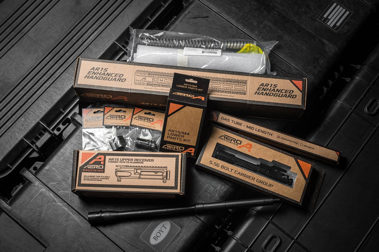 Aero Precision Rifle Build Kit - Every Part Retail Packaged - Optional 80%  Lower and Stock - $399 99