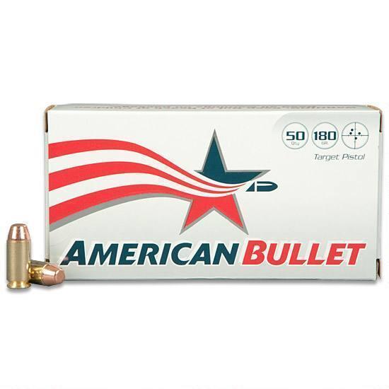 American Bullet  40 S&W 50 Rounds, TMJ, 180 Grain - $9 95 ($10 S/H