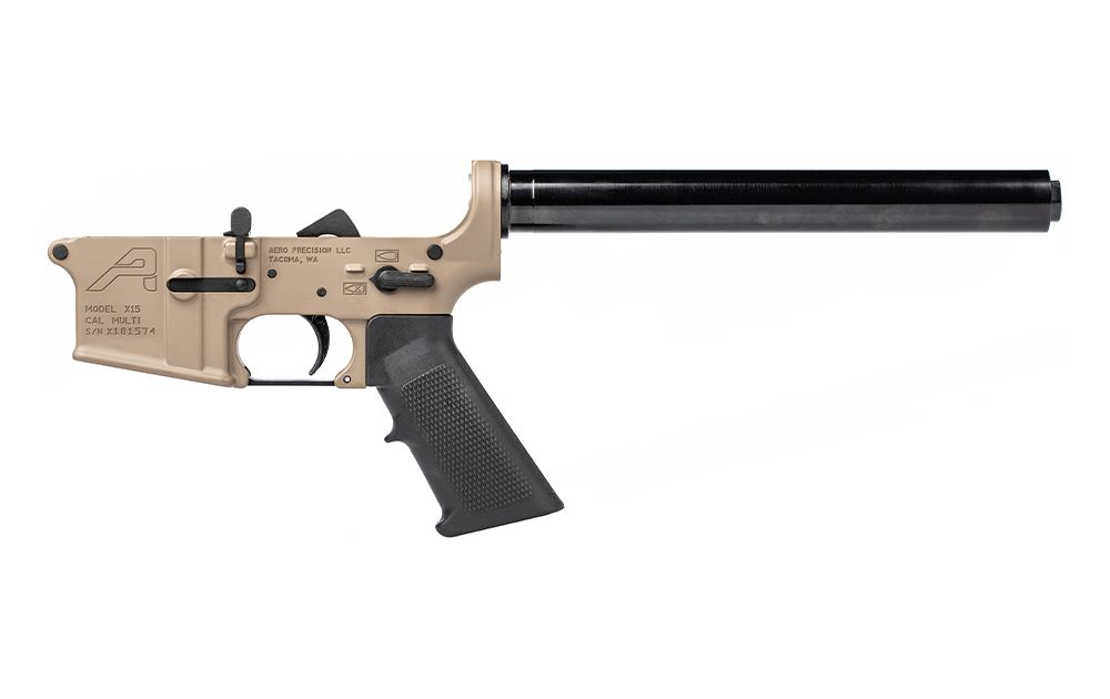 AR15 Rifle Complete Lower Receiver w/ A2 Grip, No Stock FDE Cerakote -  $170 99 (add to cart) (Free S/H over $99)
