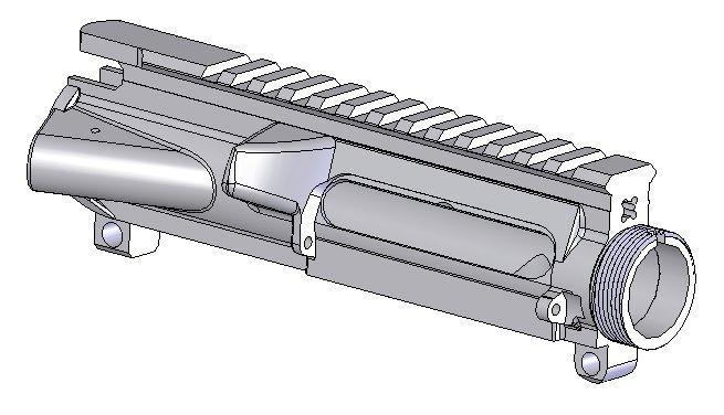 Ao precision upper receiver stripped ar 15 m4 flattop for My blueprint arkansas