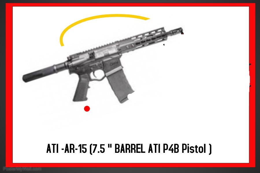ATI P4 Pistol 7 5